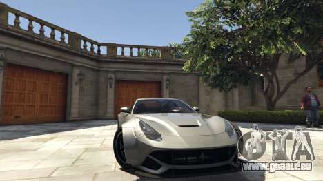 Ferrari F12 Berlinetta [LibertyWalk] v1.1 pour GTA 5
