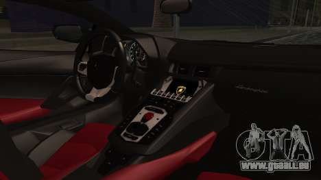 Lamborghini Aventador MV.1 für GTA San Andreas zurück linke Ansicht
