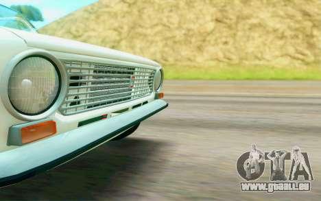 VAZ 2101 Stock pour GTA San Andreas vue arrière