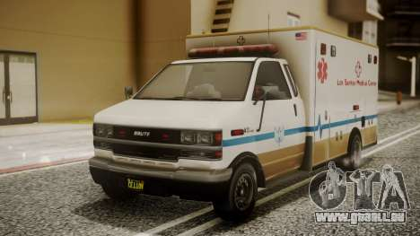 GTA 5 Brute Ambulance pour GTA San Andreas