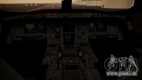 Airbus 350-900XWB MSN2 Carbon Livery für GTA San Andreas Rückansicht