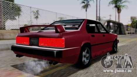 Sentinel XL from Vice City Stories pour GTA San Andreas laissé vue