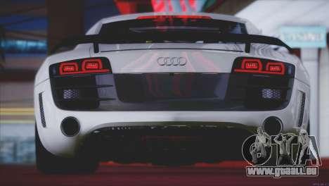 Audi R8 GT 2012 Sport Tuning V 1.0 für GTA San Andreas Räder
