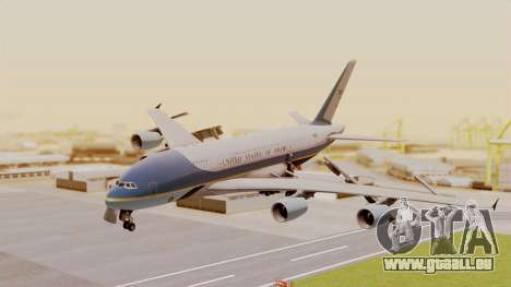 Airbus A380 Air Force One für GTA San Andreas