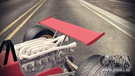 Ferrari 312 F1 für GTA San Andreas Rückansicht