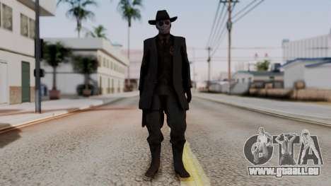 SkullFace Hat pour GTA San Andreas deuxième écran