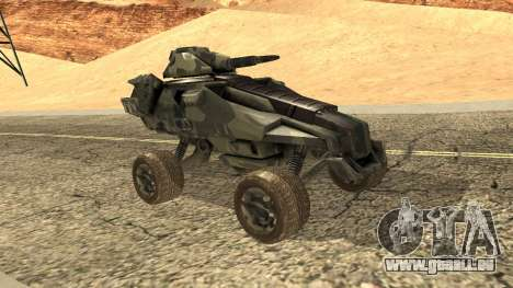 Ghost from Metal War pour GTA San Andreas