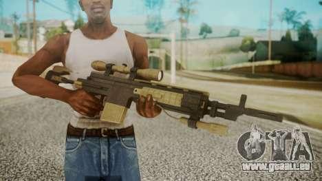 Sniper Rifle from RE6 pour GTA San Andreas troisième écran