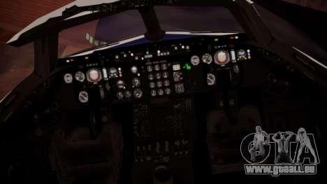 DC-10-30 British Caledonian Charter pour GTA San Andreas vue arrière