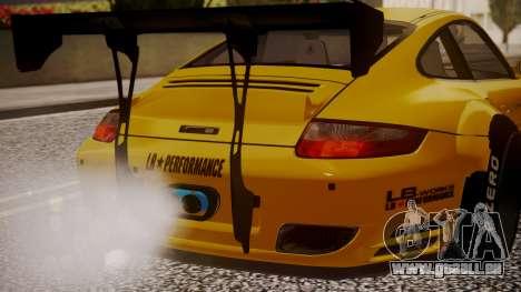 Porsche 997 Liberty Walk für GTA San Andreas Rückansicht