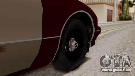 Chevy Caprice Station Wagon 1993-1996 SACFD pour GTA San Andreas sur la vue arrière gauche