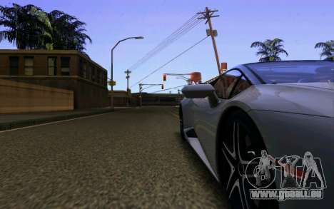 Lamborghini Huracan LP610 VELLANO für GTA San Andreas Unteransicht