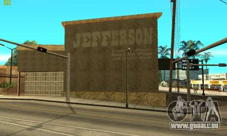 New Jefferson für GTA San Andreas zweiten Screenshot