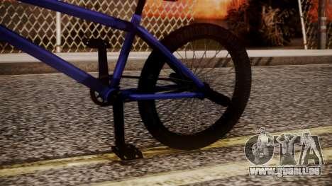 Nueva BMX für GTA San Andreas rechten Ansicht