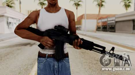 AK-103 with Rifle Dot Aimpoint M2 für GTA San Andreas dritten Screenshot