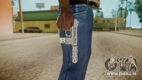 GTA 5 Tec-9 (Lowrider DLC) für GTA San Andreas dritten Screenshot
