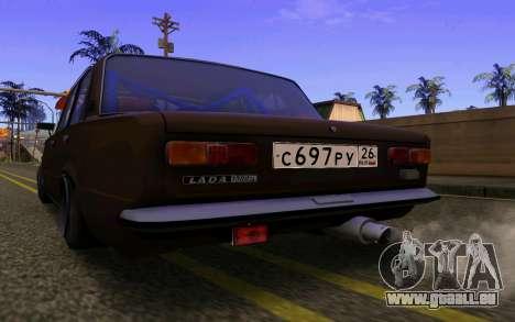 VAZ 2101 Voiture pour GTA San Andreas sur la vue arrière gauche