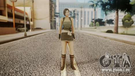 Resident Evil Remake HD - Jill Valentine pour GTA San Andreas deuxième écran