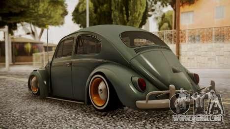 Volkswagen Beetle Aircooled für GTA San Andreas linke Ansicht