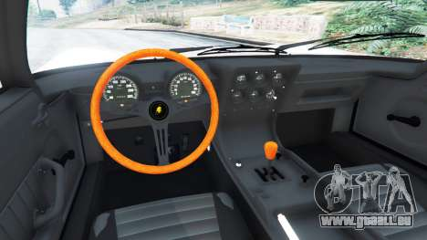 GTA 5 Lamborghini Miura P400 1967 v1.2 hinten rechts