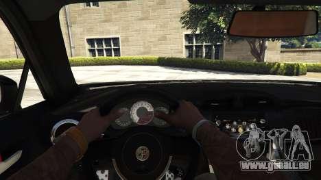 GTA 5 Toyota GT-86 v1.5 Rückansicht