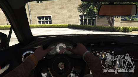 GTA 5 Toyota GT-86 v1.5 vue arrière