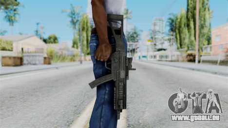 MP5 from RE6 für GTA San Andreas dritten Screenshot