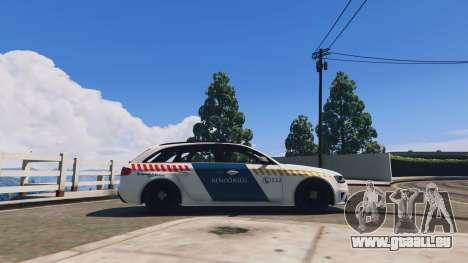 Audi RS4 Avant Hungarian Police für GTA 5