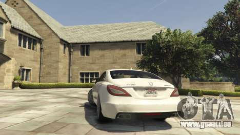 GTA 5 Mercedes-Benz CLS 6.3 AMG [BETA] hinten links Seitenansicht