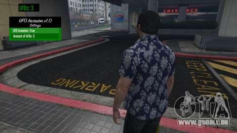 GTA 5 UFO Invasion 1.0.1 zweite Screenshot
