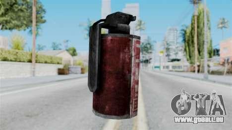 Molotov Cocktail from RE6 pour GTA San Andreas deuxième écran