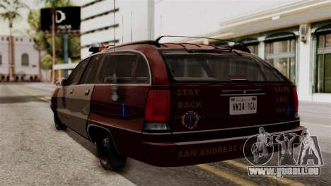 Chevy Caprice Station Wagon 1993- 1996 SAFD pour GTA San Andreas laissé vue