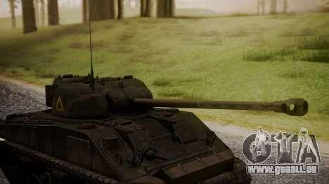 Sherman MK VC Firefly pour GTA San Andreas vue de droite