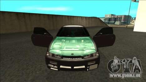 Nissan 200sx Drift pour GTA San Andreas vue intérieure