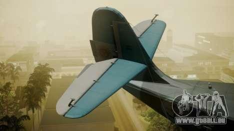 G-21A Argentine Naval Aviaton für GTA San Andreas zurück linke Ansicht