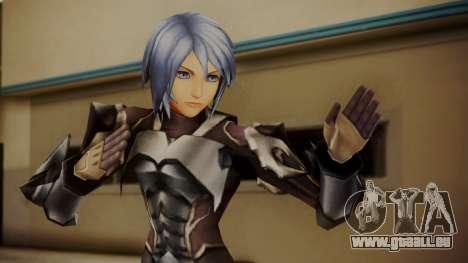 Kingdom Hearts Birth by Sleep - Armor Aqua für GTA San Andreas