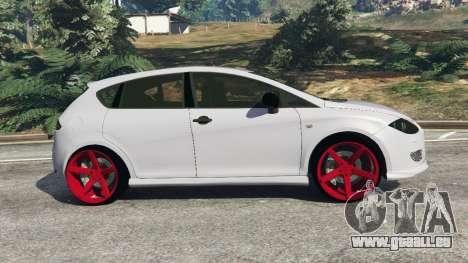 GTA 5 SEAT Leon II 2010 v1.1 linke Seitenansicht