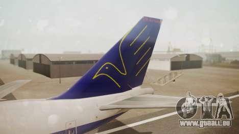 Boeing 747SP ER Airways pour GTA San Andreas sur la vue arrière gauche