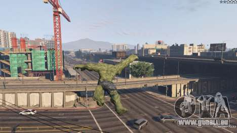 The Hulk für GTA 5