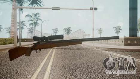 Low Poly Hunting Rifle für GTA San Andreas