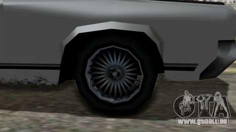 Sabre Turbo from Vice City Stories pour GTA San Andreas vue de droite