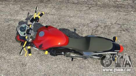 Honda CB 600F Hornet 2010 v0.5 pour GTA 5