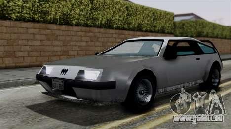 Deluxo from Vice City Stories für GTA San Andreas rechten Ansicht