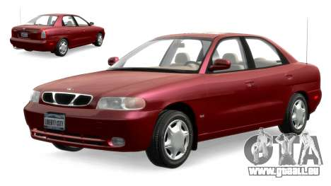 Daewoo Nubira I Sedan SX USA 1999 pour GTA 4