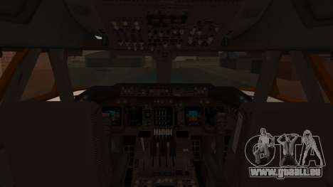 Boeing 747SR All Nippon Airways (NC) für GTA San Andreas Innenansicht