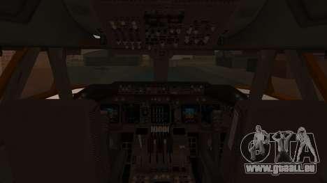 Boeing 747SR All Nippon Airways (NC) pour GTA San Andreas vue intérieure