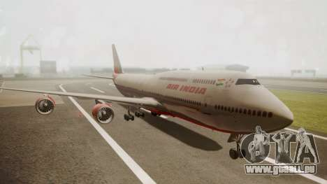 Boeing 747-8I Air India pour GTA San Andreas
