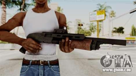 Shotgun from RE6 pour GTA San Andreas troisième écran