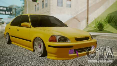 Honda Civic Sedan pour GTA San Andreas