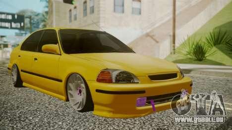 Honda Civic Sedan für GTA San Andreas
